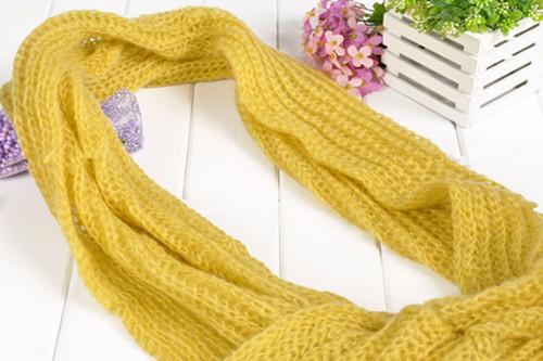 围巾结尾织法图解
