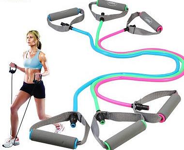 拉力绳真的有用吗,拉力绳锻炼方法图解