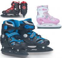 特酷冰球鞋溜冰鞋滑冰鞋球刀 特酷成人可调刀鞋/儿童可调花样冰刀鞋/可拆洗内套特价