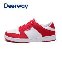 德尔惠情侣板鞋韩版休闲鞋女滑板鞋运动鞋男鞋 Deerway/德尔惠T3413803